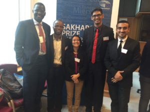 Sakharov Fellowship 2016